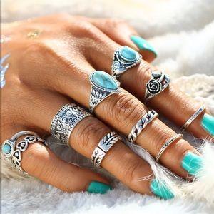 Jewelry - Boho Ring Set